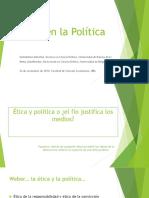 Ética en La Política, Dra. Mazzina y Anna J., 26 11 2018