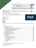 Regioselective Acylation, Alkylation, Silylation, And Glycosylation of Monosaccharides