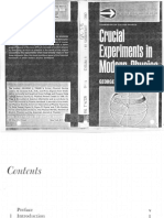 Crucial Experiments in Modern Physics by George L Trigg
