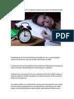 Studiu Cu Rezultate Alarmante! Ce Se Petrece În Trupurile Noastre Atunci Când Dormim Prea Puţin