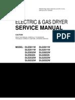 LG Electric Dryer Manual