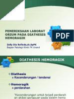 Pemeriksaan Laboratorium Pada Diathesis Hemoragik-dr.zelly(1)