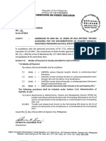 CMO 16 Series of 2014 Addendum to CMO No. 13 Series of 2014 Entitled Revised Guidelines for the Implementation of Student Financial Assistance Programs StuFAPs Effective AY 20
