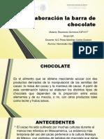 Elaboración La Barra de Chocolate