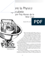 Fray Alonso Vera Cruz physica especulatio