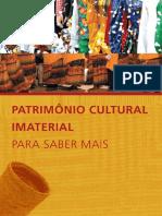 BRAYNER, Natália. Patrimônio Cultural Imaterial - Para Saber Mais.pdf
