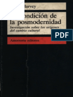 Harvey - La condicion de la posmodernidad - Investigación sobre los orígenes del cambio cultural.pdf