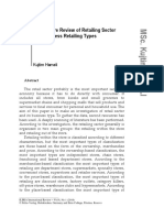 A Literature Review of Retailing Sector and Busine