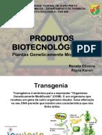 PRODUTOS BIOTECNOLÓGICOS (1)
