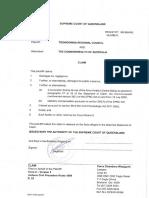 Toowoomba Regional Council v Commonwealth of Australia claim