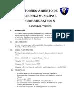 II Torneo de Ajedrez 2018