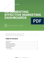 Implementing Effective Marketing Dashboards Best Practices Guide