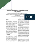 Reflexiones y experiencias sobre la enseñanza de POO como unico paradigma de Programacion