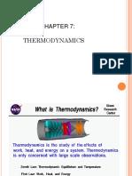 Chapter 7 Thermodynamic