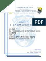 V-4 - Cadena Epidemiol+¦gica de las Enfermedades Infecciosas