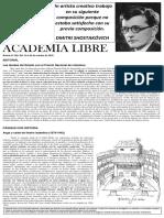 Academia Libre - Boletín 266