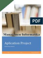Pedoman Application Project MI 2018