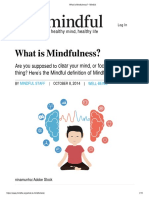 What is Mindfulness_ - Mindful