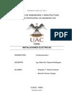 Informe de Instalaciones Electricas - Ing. Olazabal
