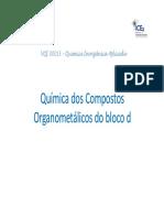 Organometalicos Aula 1 Modo de Compatibilidade