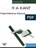 Releer a Kant - Felipe Martinez Marzoa.pdf