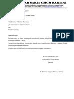 Surat Permohonan Poltekes