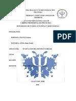 Monografia de Familia Funcional y Disfuncional