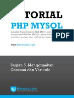 PHP&MySQL Bag. 5