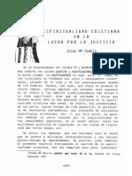Espiritualidad Cristiana en La Lucha Por La Justicia (2)