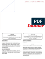 2016 Indmar Marine Engines Operators Manuals