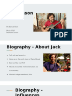 jack johnson listening guide
