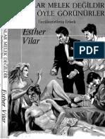 Esther Vilar - Kadınlar Melek Değildir Ancak Öyle Görünürler (Evcilleştirilmiş Erkek) - Lanse Kitap Yay Cs