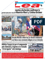 Periódico Lea Viernes 07 de Diciembre Del 2018