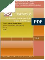 Formato de Portafolio I