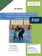 El Deporte Sin Genero. Un Paso Hacia La Inclusion en Las Escuelas.
