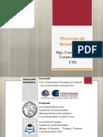 Proyectos de Investigacion a Apa Enfoque