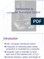Cnc Introduction