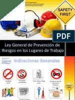 Mtps Modulo i Ley General de Prevencion de Riesgos en Los Lugares de Trabajo