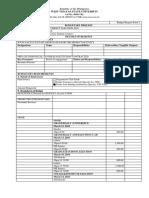 USEC Budget Request Form