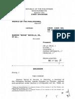 Sandiganbayan's decision on Bong Revilla's plunder case