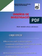 10. Diseños de Investigación