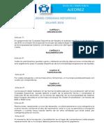 1. Bases de Competencia Ajedrez 2018