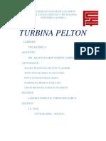 Laboratorio Turbina Peton 1