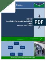 Anuario Estatistico 2015 Parcial