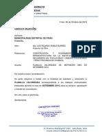 CARTA N° 09 - METRADO VALORIZACION 2