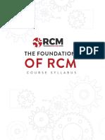 RCM Course Syllabus