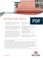 Conveyer Belt Fabric