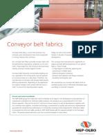 Conveyer Belt Fabric