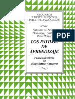 Los Estilos de aprendizaje Procedimientos de diagnóstico.pdf