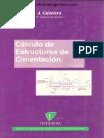 Cálculo de Estructuras de Cimentación, Calavera, 7 Ed